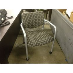 HERMAN MILLER 'REACTION' ROLLING CLIENT CHAIR