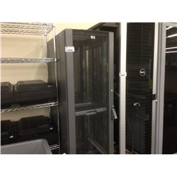 HP 6' TALL MOBILE SERVER CABINET WITH CONTENTS