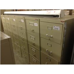 BEIGE 4 DRW. LEGAL FILE CABINET