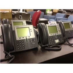 10 CISCO 7942 IP DISPLAY HANDSETS