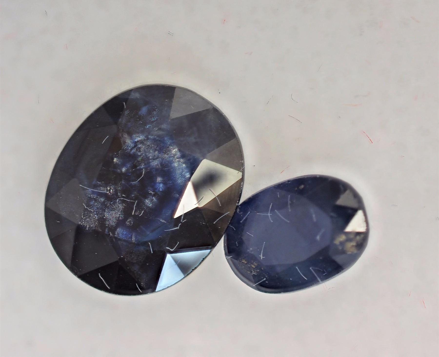 vivid pair ceylon format oval raf jewels royal antique fine sapphire rare blue