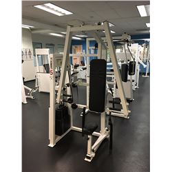 APEX VERTICAL BENCH MACHINE, WITH 260 LBS WEIGHT