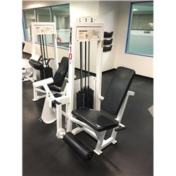 APEX LEG EXTENSION MACHINE, WITH 230 LBS WEIGHT