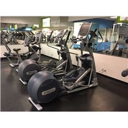 PRECOR EFX ELIPTICAL MACHINE, P80 DISPLAY INC. BUILT IN WI-FI TELEVISION, AND USB PORT