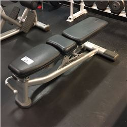 LIFE FITNESS EXERCISE BENCH