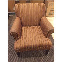 LOBBY LOUNGE CHAIR- WOODEN LEGS