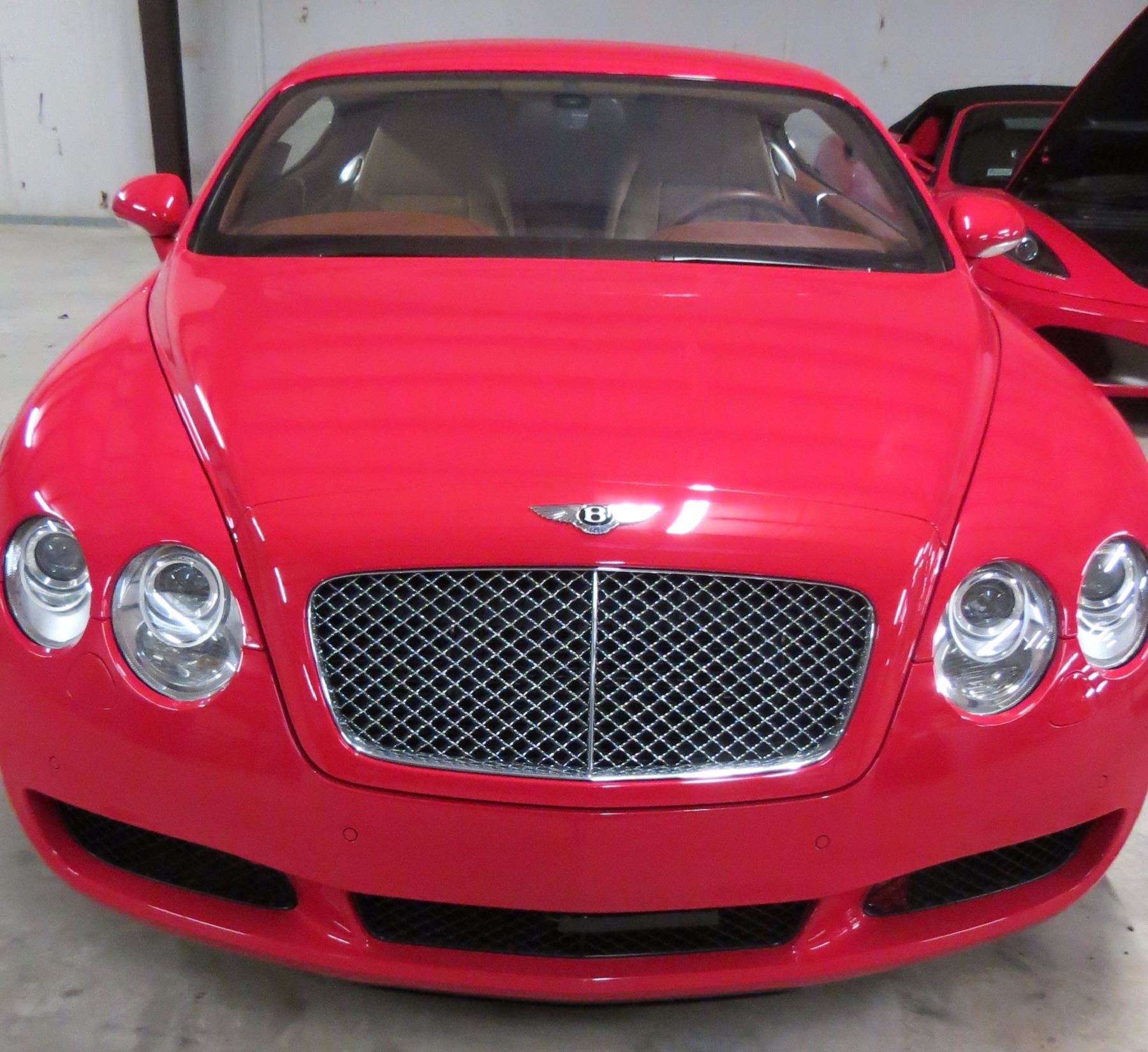 2005 Bentley Continental GT AWD Coupe; 6.0 Liter Twin