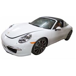 2015 Porsche 911 Carrera 4S Targa Coupe; 3.4L H6 DIR DOHC 24V; Auto Transmission; All Wheel Drive; W