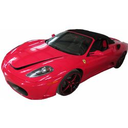 2007 Ferrari F430 Spider Convertible; 4.3L V8 FI DOHC 32V; Auto Transmission; Gasoline; Rear Wheel D