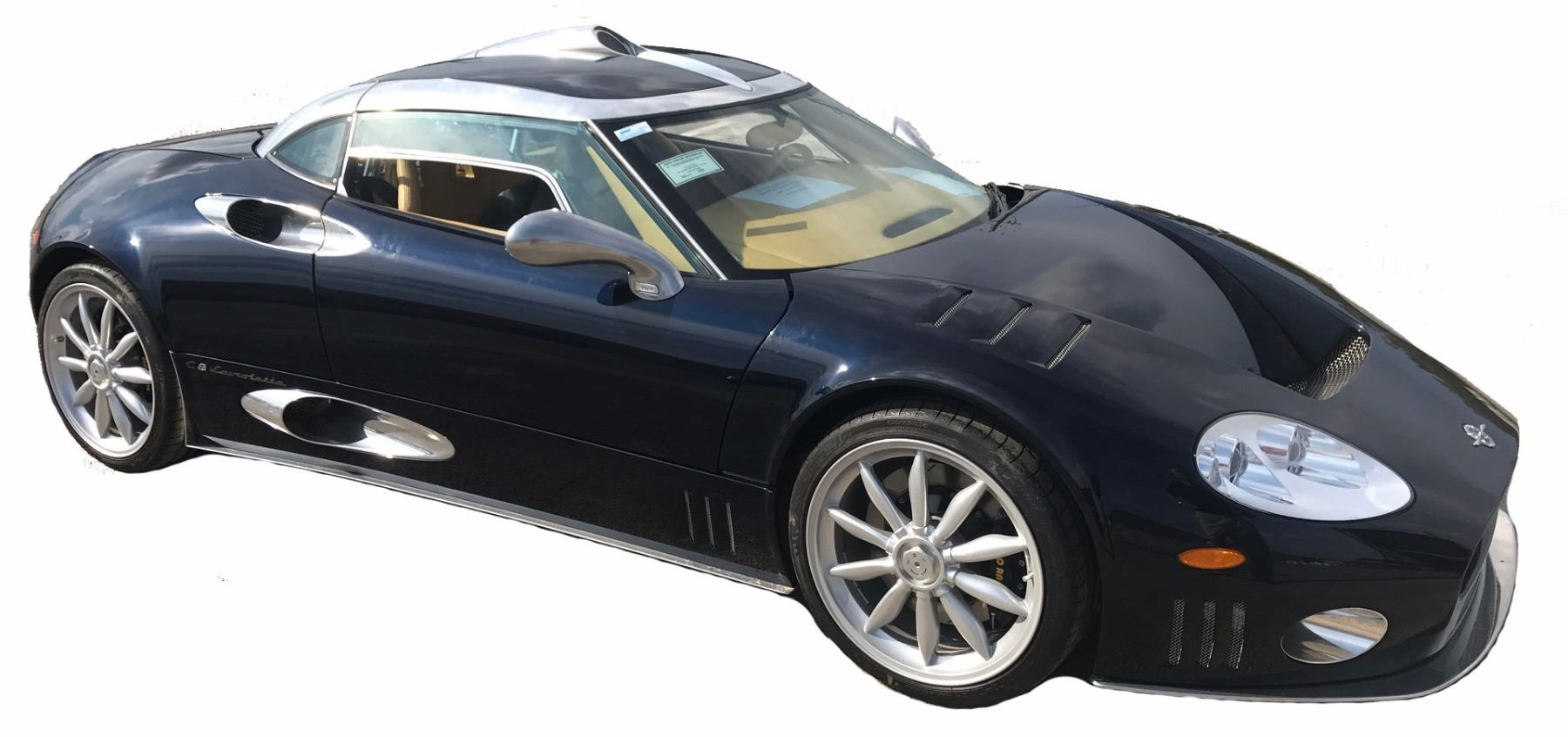 Video; Image 1  2009 Spyker C8 Laviolette Holland with Butterfly Doors; 4.2L 400HP V8 ...  sc 1 st  iCollector.com & 2009 Spyker C8 Laviolette Holland with Butterfly Doors; 4.2L 400HP ...