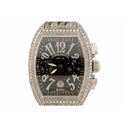 WATCH:  [1] Stainless steel gents Franck Muller Master of Complications King Conquistador Chronograp