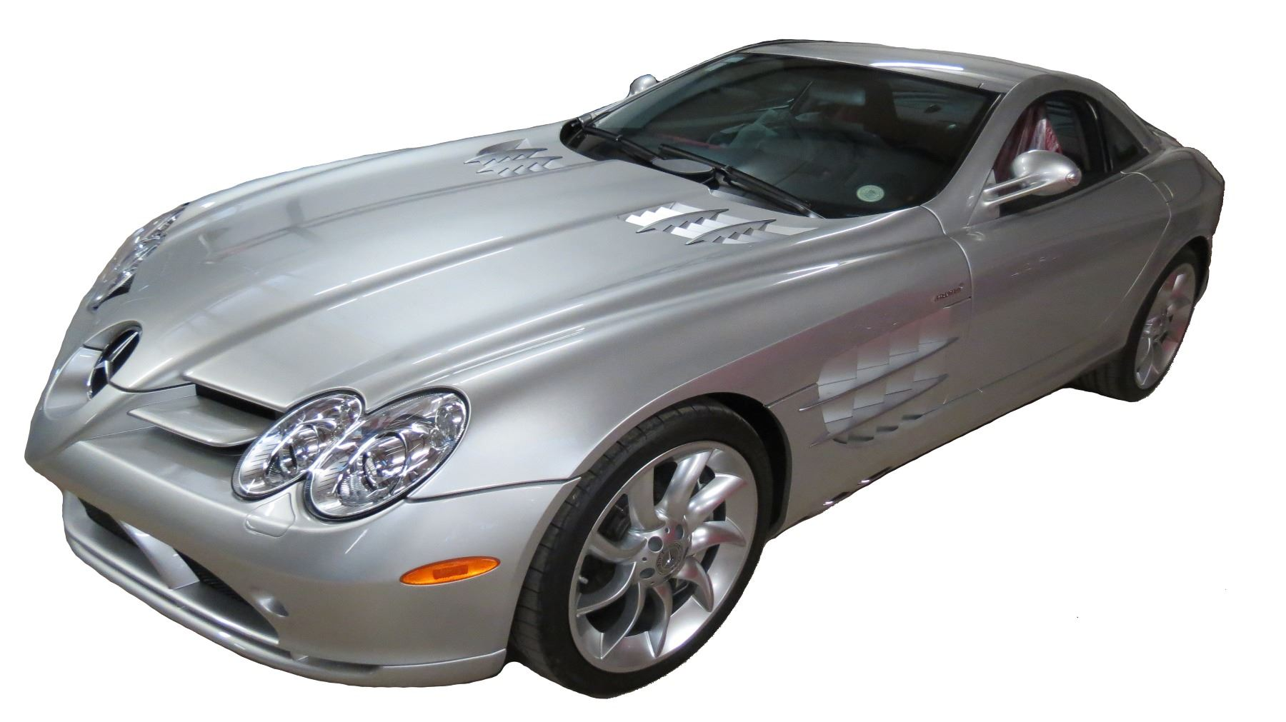Video; Image 1  2005 Mercedes-Benz SLR McLaren Coupe with Butterfly Doors; 5.5L ...  sc 1 st  iCollector.com & 2005 Mercedes-Benz SLR McLaren Coupe with Butterfly Doors; 5.5L V8 ...