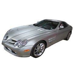 2005 Mercedes-Benz SLR McLaren Coupe with Butterfly Doors; 5.5L V8 FI; Auto Transmission; Gasoline;