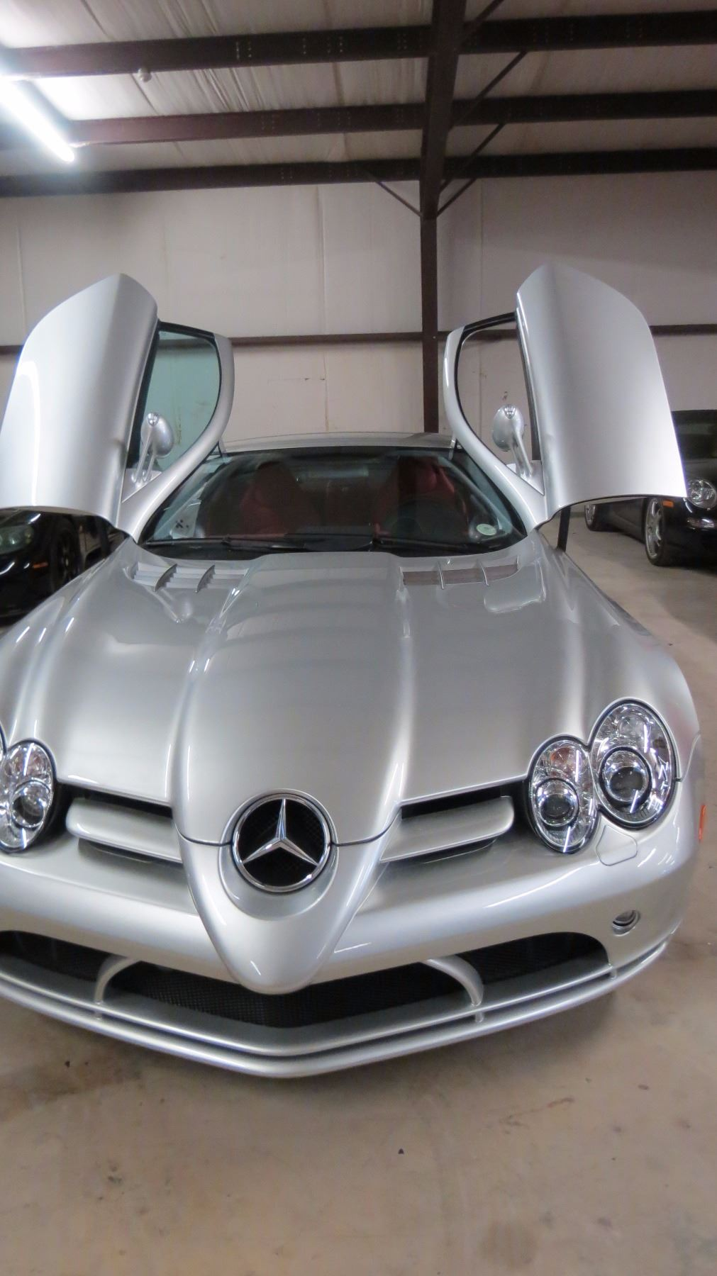 ... Image 7  2005 Mercedes-Benz SLR McLaren Coupe with Butterfly Doors; 5.5L ... & 2005 Mercedes-Benz SLR McLaren Coupe with Butterfly Doors; 5.5L V8 ...
