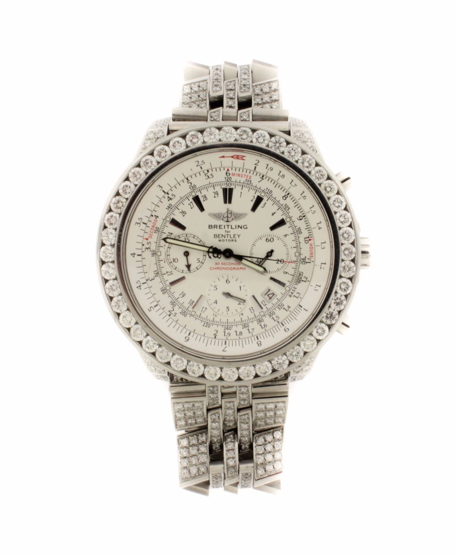 WATCH: [1] Stainless Steel Gents Breitling For Bentley