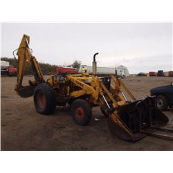 1968 Case 580 Gas Back Hoe W/ Bucket