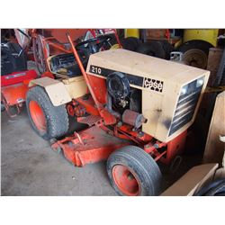 1970 Case 210, Hydraulic Drive, W/ Rear Tiller