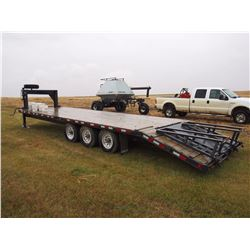 "2011 Trailtech Flat Deck Trailer, 26"", 29"" with Beaver Tails"