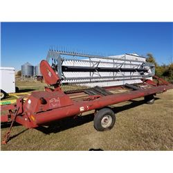 1997 Case International 25' Swather, U2 Pickup Reel