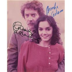 Donald Sutherland and Brooke Adams