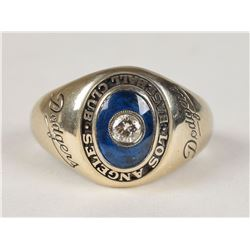 Los Angeles Dodgers 1958 Ring