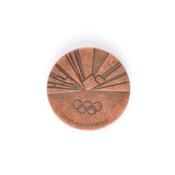 Torino 2006 Winter Olympics Pair of Participation Medals