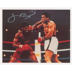 Muhammad Ali and Leon Spinks