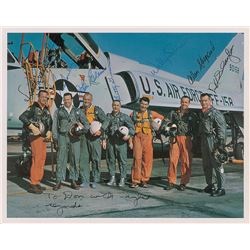 Mercury 7 Signed Photograph