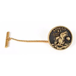 Apollo 11 Flown Tie Tack