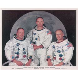Apollo 11: Armstrong and Aldrin Signed Photograph