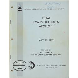 Apollo 11 Final EVA Procedures Manual