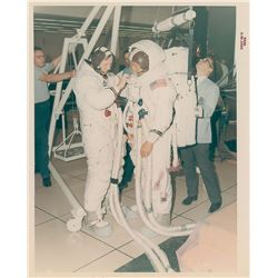 Apollo 11: Armstrong and Aldrin Original Vintage NASA Photograph