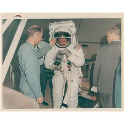 Apollo 11: Armstrong Original Vintage NASA Photograph