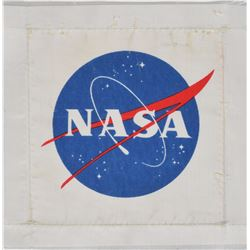 Apollo 11: Armstrong's PLSS-Worn NASA Beta Cloth Patch