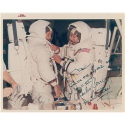 Apollo 12: Bean and Conrad Pair of Signed Photographs