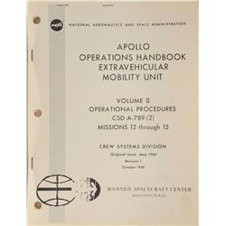 Apollo 12-15 'Extravehicular Mobility Unit' Operations Handbook