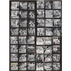 Apollo 12 Set of (4) Original Photo Contact Sheets