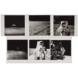 Apollo 12 Set of (6) Original Vintage Photographs