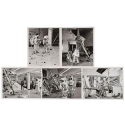 Apollo 12 Set of (5) Original Vintage Photographs