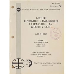 Apollo 15-17 'Extravehicular Mobility Unit' Operations Handbook