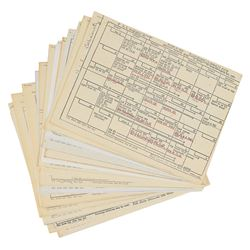 Apollo Astronaut Collection of Schedules