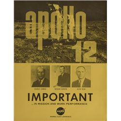 Apollo Manned Flight Awareness Collection of Mini Posters