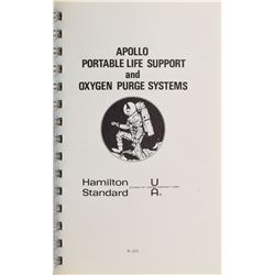 Apollo Set of (3) Portable Life Support and Oxygen Purge Systems Manuals