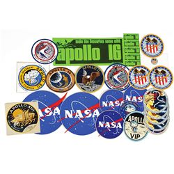 Apollo-Era Group of (28) Decals and Patches