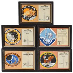 Apollo Collection of ID Badges