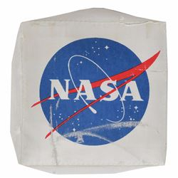 NASA 'Meatball' Patch Removed from Mockup PLSS