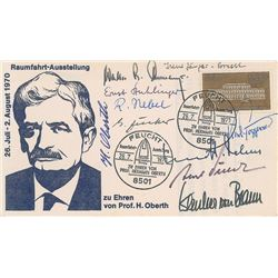 German Rocket Scientists Multi-Signed Cover