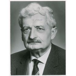 Hermann Oberth Set of (4) Signed Items