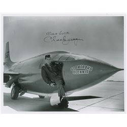 Chuck Yeager Signed Photograph