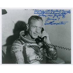 MA-7: Scott Carpenter Signed Photograph